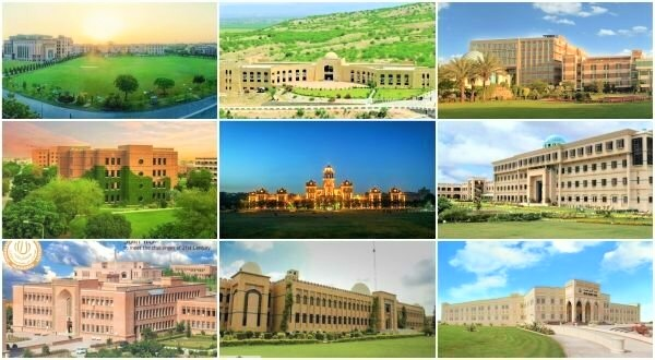 Universities in Pakistan, Colleges in Pakistan, Exams Result 2019, Education System, BISE, MDCAT, UAHS, NTS, University life, Hostal life.