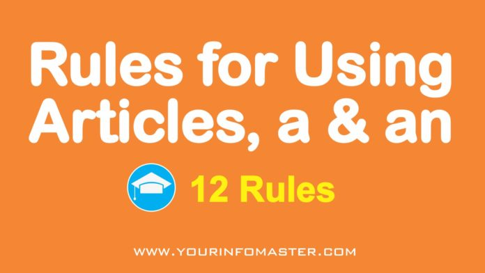 Rules for Using English Grammar Articles, English with Lucy, English Grammar articles, definite article, indefinite article, reported speech rules, a-an-the